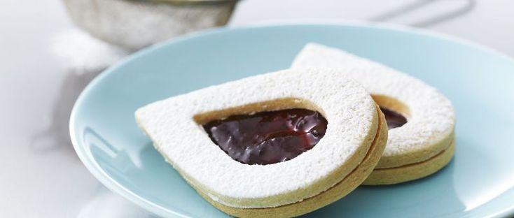 Galletas de almendra- Chff Anna Olson - Prog. El gourmet http://elgourmet.com/receta/galletas-de-almendra
