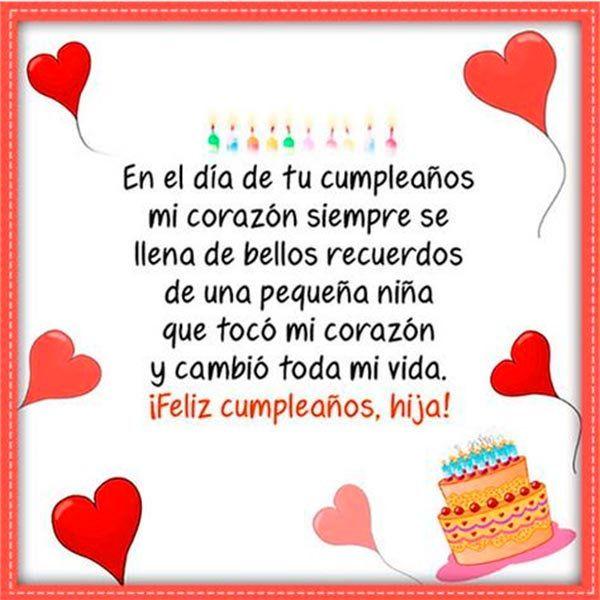 Mensajes Cristianos De Cumpleanos Para Una Hija 2 Felicitaciones De Cumpleaños Hija Feliz Cumpleaños Mi Hija Cumpleaños Hijo
