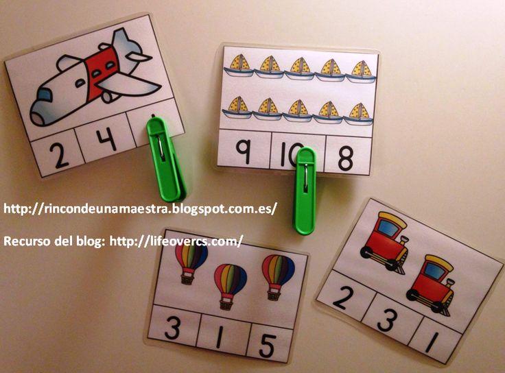 Rincón de una maestra: Materiales para trabajar los amigos del 10