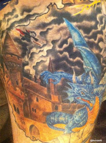 (San Jose Sharks defenseman) Brent Burns and the Harry Potter Tattoo of Awesome