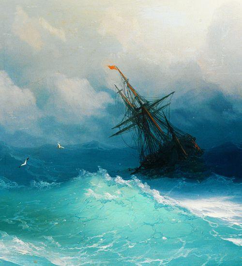 Seascape by Ivan Aivazovsky, 1817 – 1900