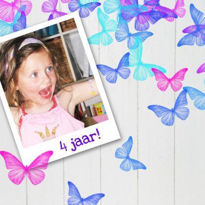 Vrolijke uitnodiging kinderfeest - Uitnodigingen - Kaartje2go