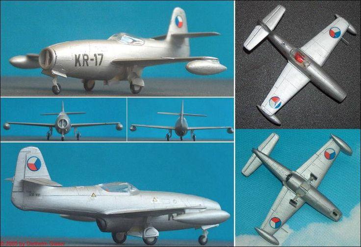 CSSR: Yakowlew Yak-23 (Flora) (Kovozavody 18) 1:72