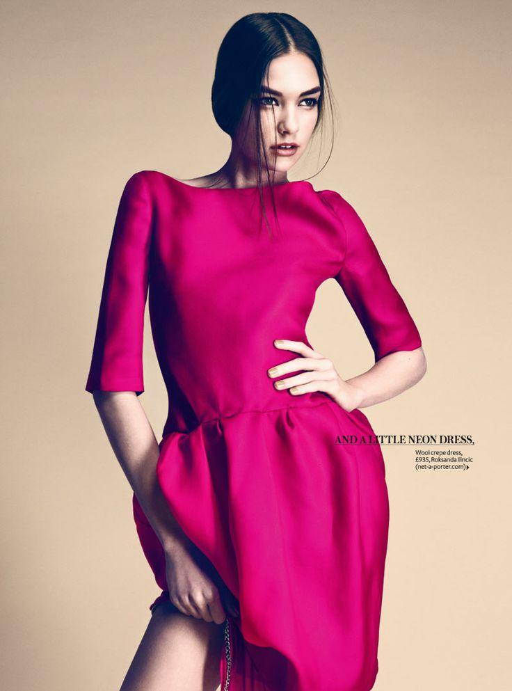 hot pink dress - Roksanda Ilincic: Hotpink, Fashion Models, Fashion Style, Bridesmaid Dresses, Bright Pink Dresses, Hot Pink, Style Guide, Pink Fashion, Victoria Secret Models