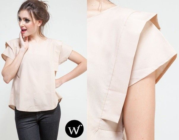 Statement with a blouse? why not! Wrongstitch Pile Blouse IDR225.000. 15% Discount & FREE SHIPPING: http://pict.com/p/BfW