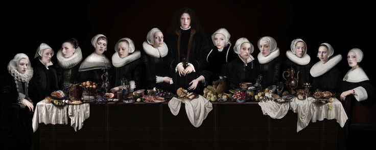 """Dutch Last Supper "" by Sabine Pigalle"