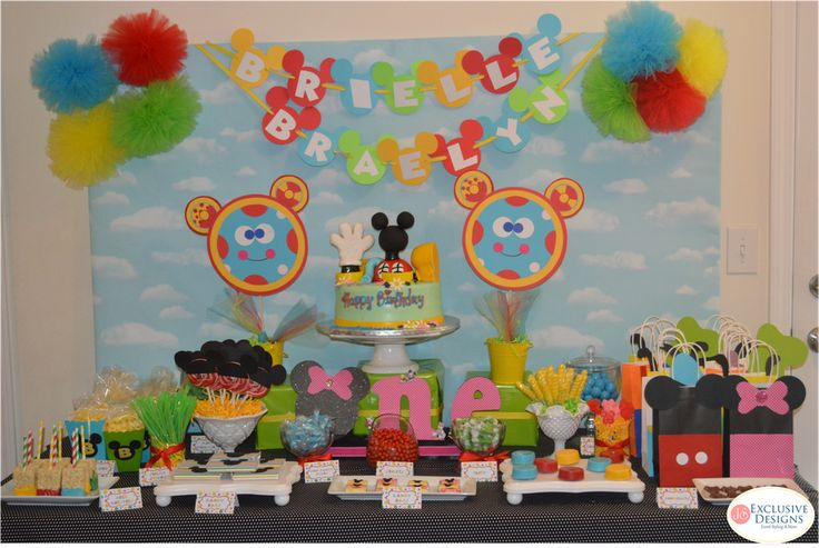 Mickey Mouse Clubhouse birthday party! See more party ideas at CatchMyParty.com!