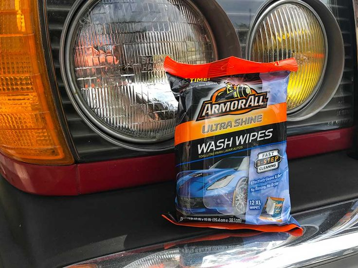 Armor All's Ultra Shine Wash Wipes, are convenient pre-moistened wipes that will help keep your car looking it's best at all times. #ad #armorall