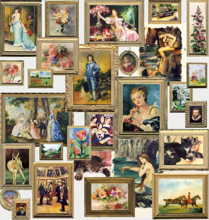 Collection of miniature paintings