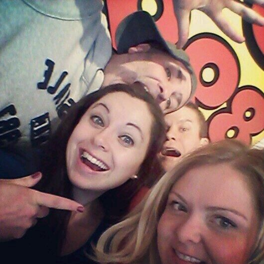 A Happy Birthday Selfie for our wonderful Jenni!! #ButFirstLetUsTakeASelfie #IAMHOT #25KSelfie