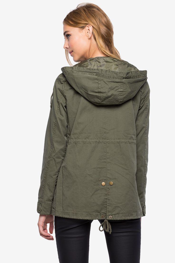 Куртка Размеры: S, M, L Цвет: оливковый Цена: 2006 руб.  #одежда #женщинам #куртки #коопт