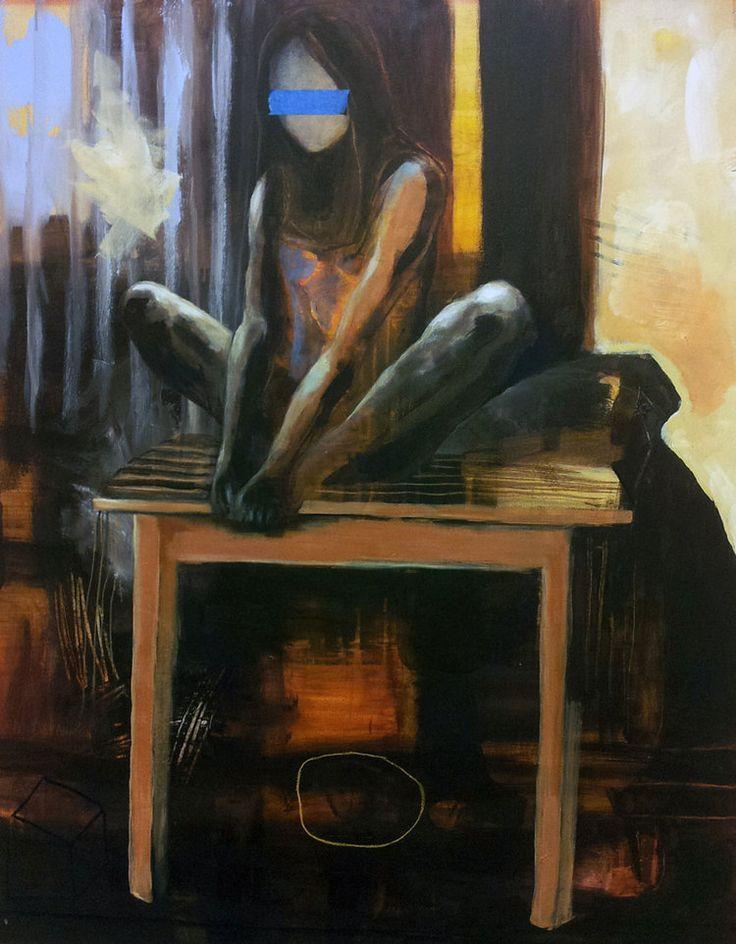 PÅ BORDET BY ANNE-BRITT KRISTIANSEN  #fineart #art #painting #kunst #maleri #bilde  https://annebrittkristiansen.com/paintings/2013/