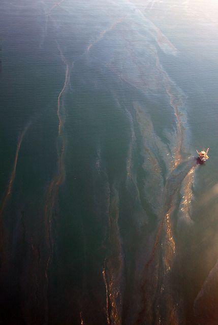 Oil Seep Seen from the Air - Santa Barbara News - Edhat
