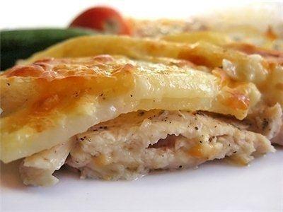 Фото к рецепту: Картошка по-царски