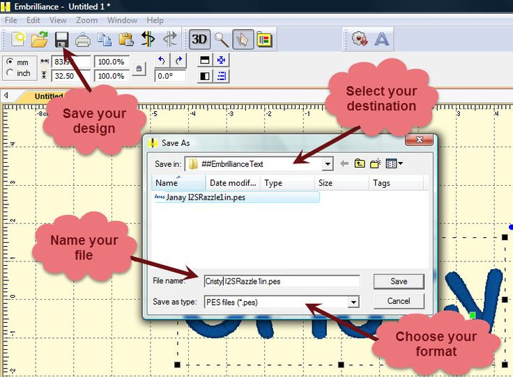 How to use the BX format with Embrilliance