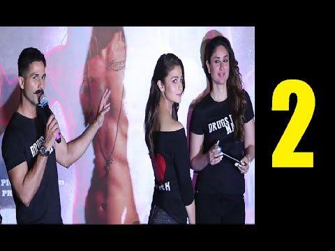 UDTA PANJAB trailer launch   Shahid Kapoor, Kareena Kapoor, Alia Bhatt   PART 2