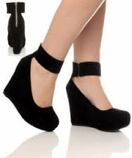 Image result for girls  blue high heels size 10