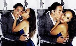 Anthony Ramos and Jasmine Jones