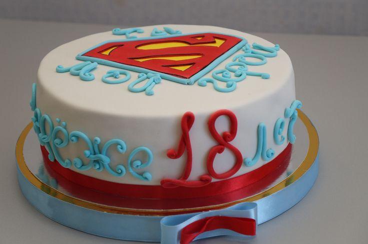 Супермен #торт_на_заказ_кременчуг #день_рождения #бисквитный_торт #шоколадный_торт #комбинированный_торт