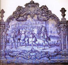 Concordia Populi insuperabilis: painel de azulejos do Convento de São Francisco de Salvador.  http://sergiozeiger.tumblr.com/post/99177831668/convento-de-sao-francisco-salvador-o-convento  Para expressar o Theatro Moral no Claustro do Convento de São Francisco foram encomendados em Portugal, em meados do século XVIII, azulejos especiais e selecionados 37 dos 103 Emblemas de Horácio.