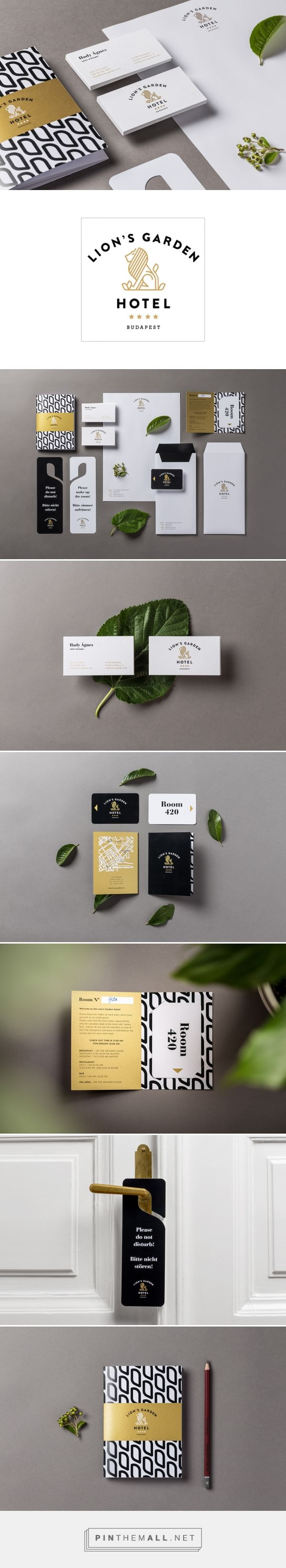 Lion's Garden Hotel on Behance | Fivestar Branding – Design and Branding Agency…