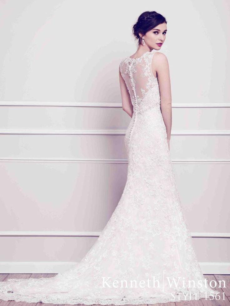 1561 menyasszonyi ruha #KennethWinston #igenszalon #eskuvoiruha #weddingdress