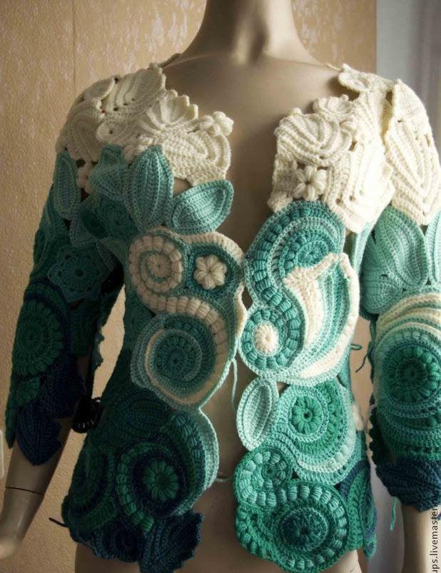 Turtleback Jacket Free Pattern Crochet : 17 Best ideas about Crochet Jacket on Pinterest Crochet ...