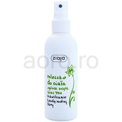 Ziaja Cucumber lotiune de corp Spray   aoro.ro