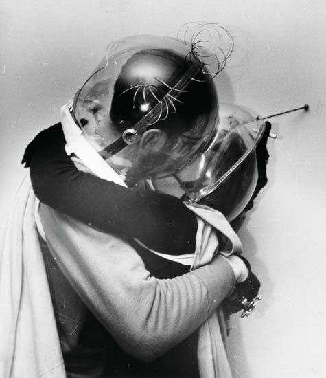 Weegee (Arthur Fellig)~ Space Lovers, 1950's~♛