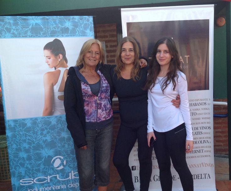 Norma, Ana y Dana de Scrubs Indumentaria Deportiva