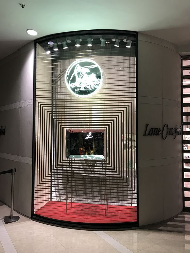 Fragrance Launch Window Display for Christian Louboutin