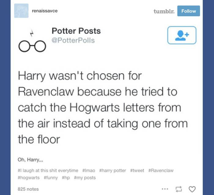 19 Mal genagelt Tumblr, wie es war, in Ravenclaw zu sein