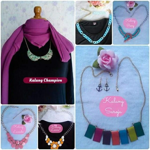 Cute necklace price 50rb idr