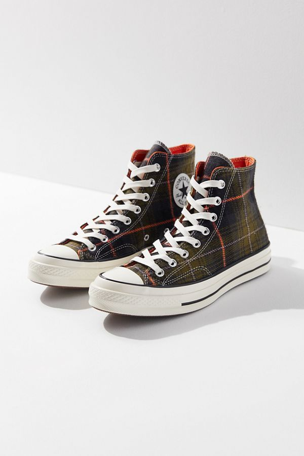 9799279fbb3b Converse Chuck 70 Plaid High Top Sneaker in 2019 | Urban Outfitters ...