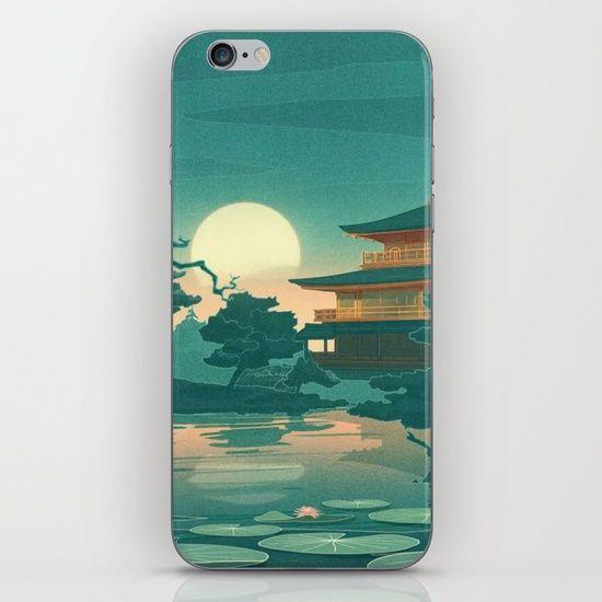 Birds Ocean House iPhone & iPod Skin