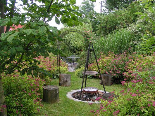 die besten 25+ feuerstelle garten ideen auf pinterest, Gartenarbeit ideen