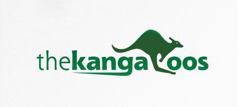 Kangaroos logo designs