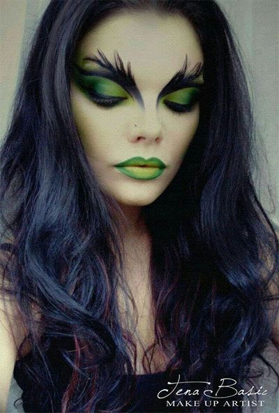 Witch Hairstyles 46 Best Halloween Witch Make Up Images On Pinterest  Artistic Make