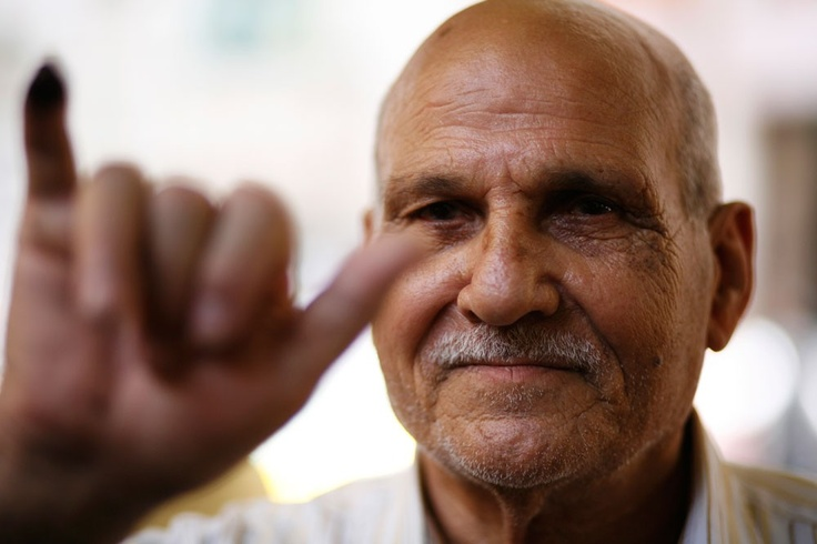 """""""I feel great, thank God. For the first time all segments of Egypt are voting for their president without pressure from anyone. Muslims, Christians, everyone. God willing, it will be good for Egypt."""" - Samir Zaky Shehata, 73: Christian"""