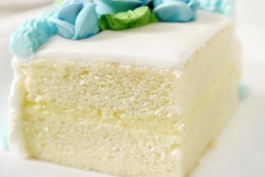 Slice of White Cake - Lauri Patterson/Vetta/Getty Images