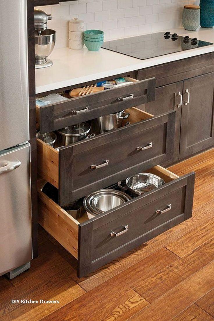 New Kitchen Drawer Ideas In 2020 Wooden Kitchen Cabinets Kitchen Cabinet Remodel Best Kitchen Cabinets