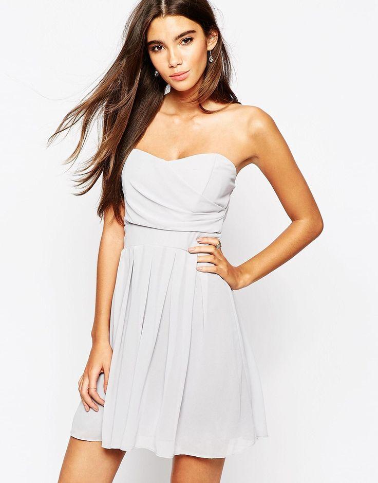 TFNC Prom Dress In Pleated Chiffon
