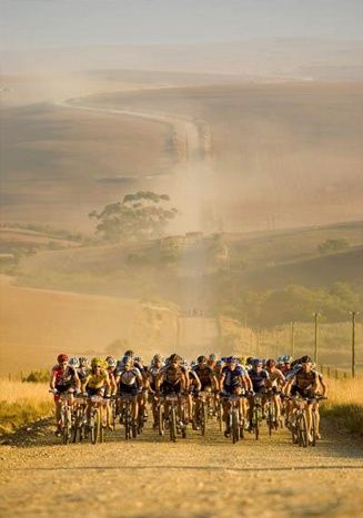 Article: 5 Of The Toughest Mountain Bike Races In The World - Pictured is the Cape Epic, South Africa #mtb #cycling