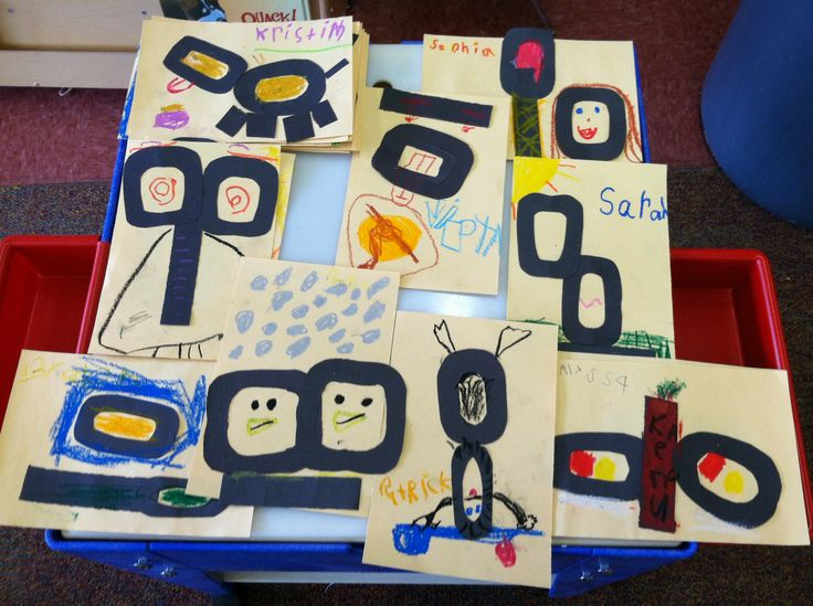 100 th day of kindergarten... Create a picture using a 100 in an innovative way.