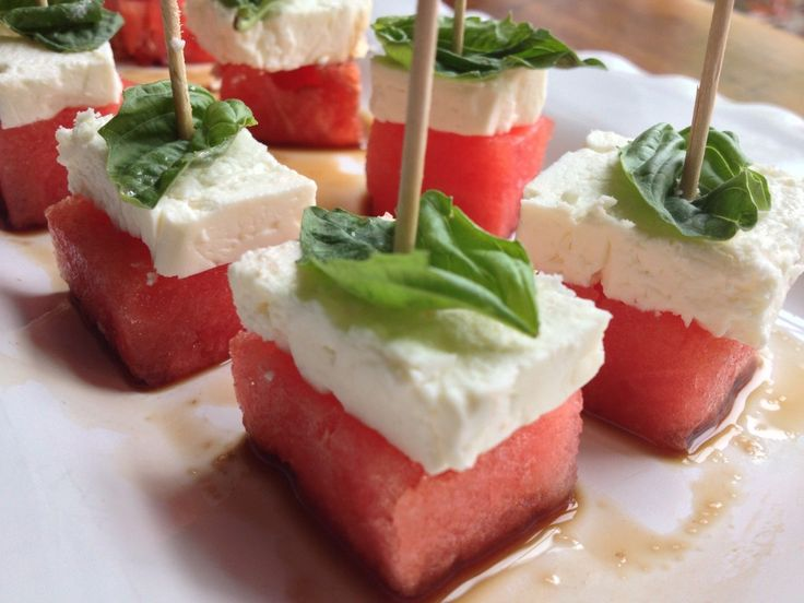 Watermelon Feta Bites | Little bit of this and that ...