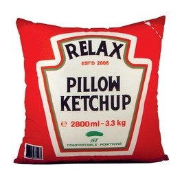 Ketchup Polštář / Heinz Pillow