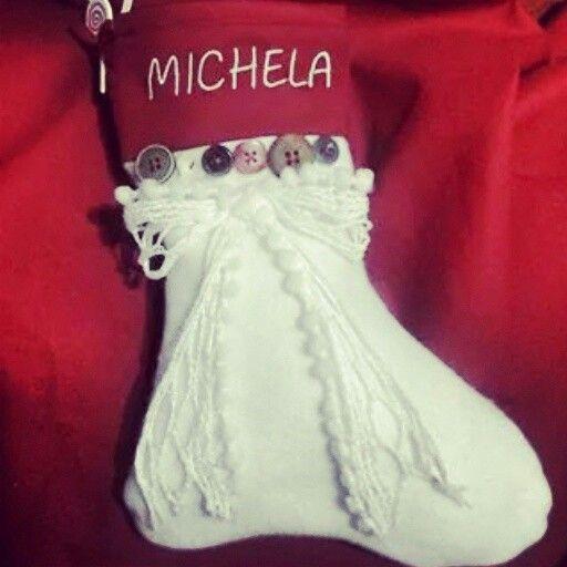 Calze Befana personalizzate. ..♥♡♥