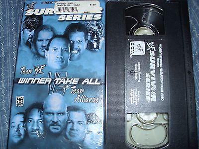 WWF - Survivor Series 2001: Winner Take All (VHS, 2002) WWE vs WCW