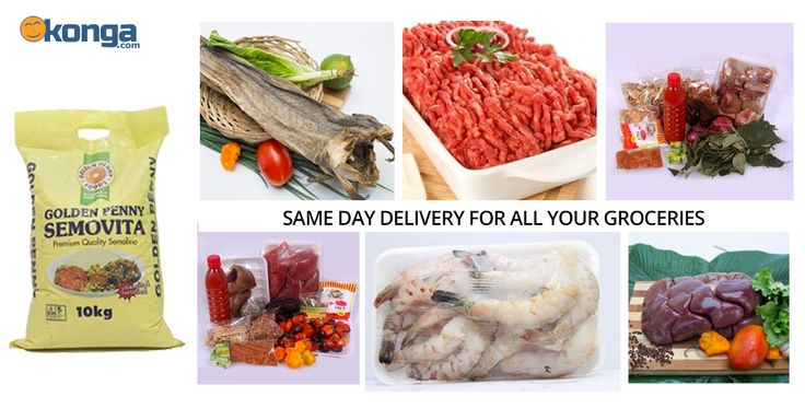 Nigeria News – Making your favourite soups and local dishes just got easier! Konga now offers same day delivery for all your groceries and ingredients needed to make your local delicacies.