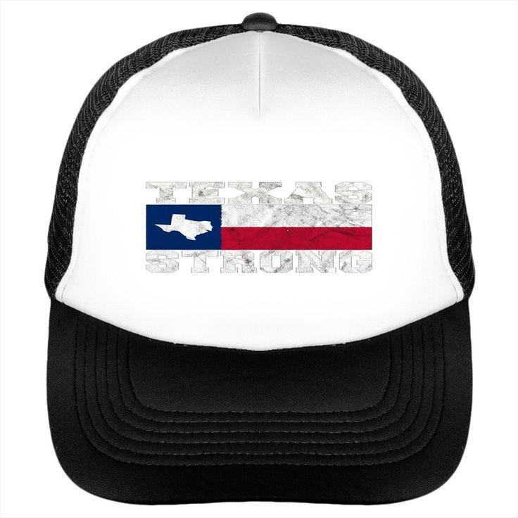 Texas Strong - I Love Texas T-Shirt - Hat